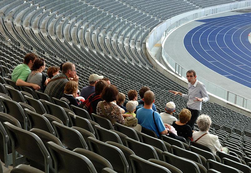 Gruppenführung im Olympiastadion Berlin