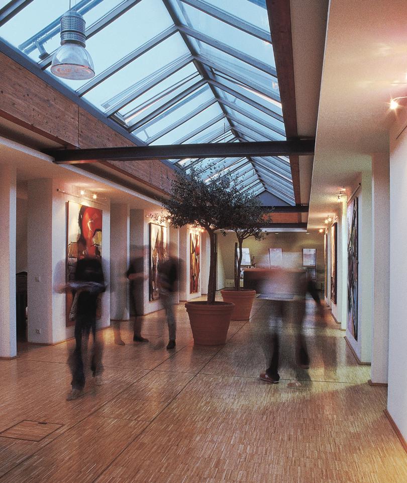 Innenaufnahme Eingangsbereich R&C